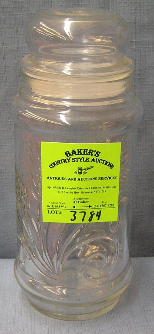 Vintage planters peanuts storage jar