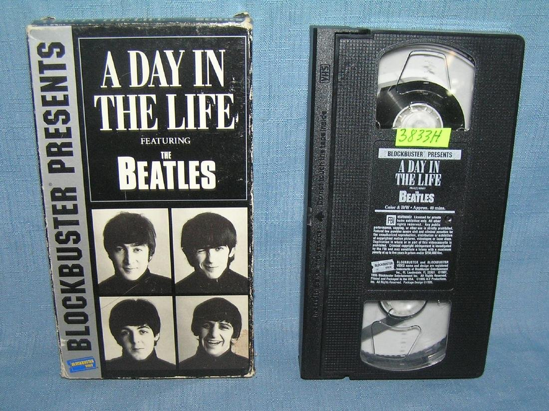A Day in the Life featuring the Beatles
