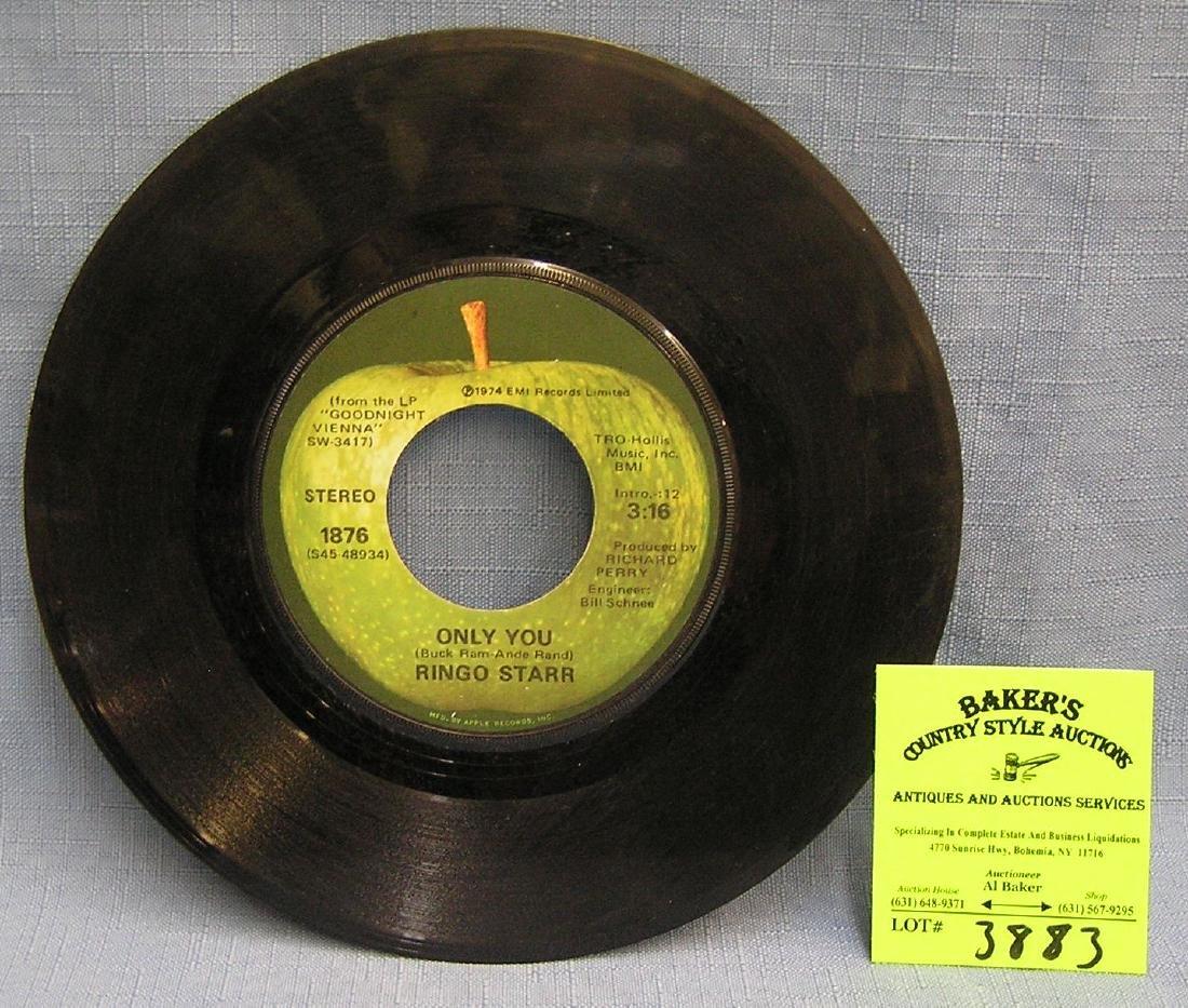Vintage Ringo Starr 45 rpm record