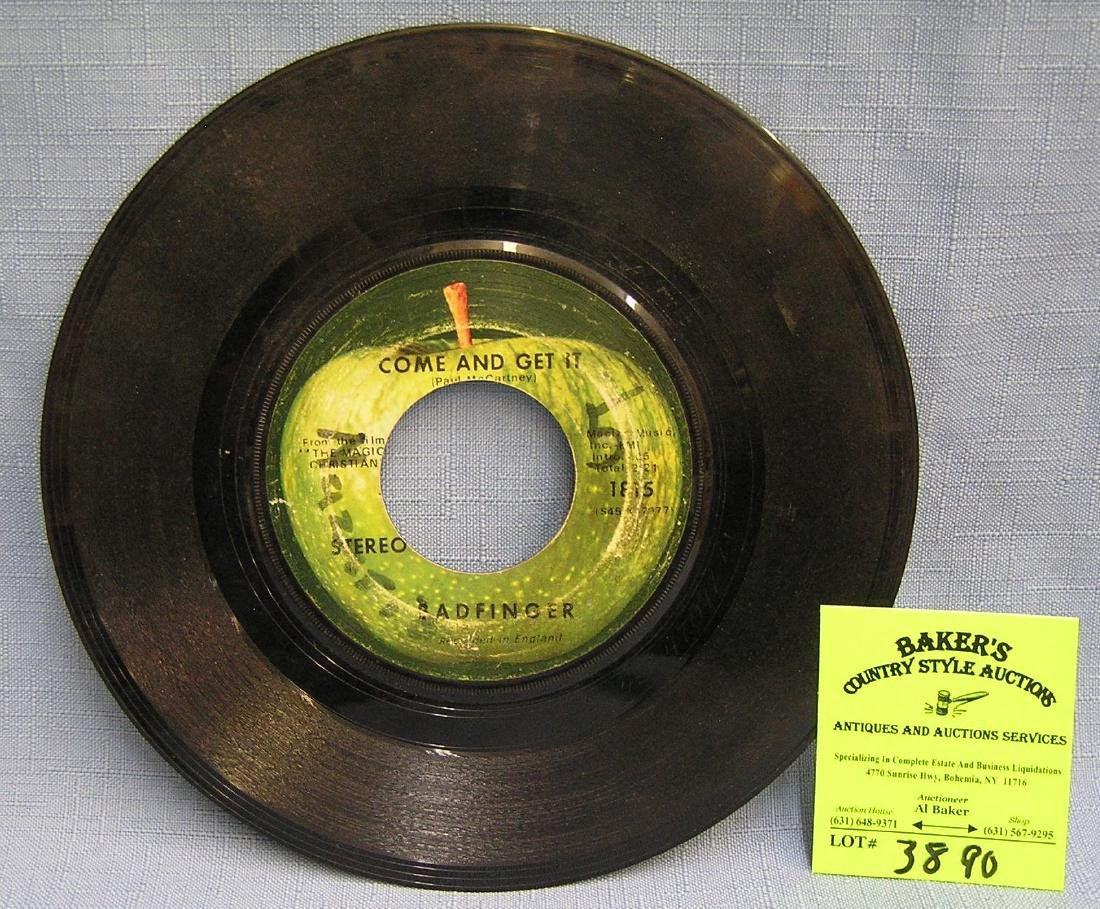 Come And Get It by Bad Finger vintage 45 rpm record