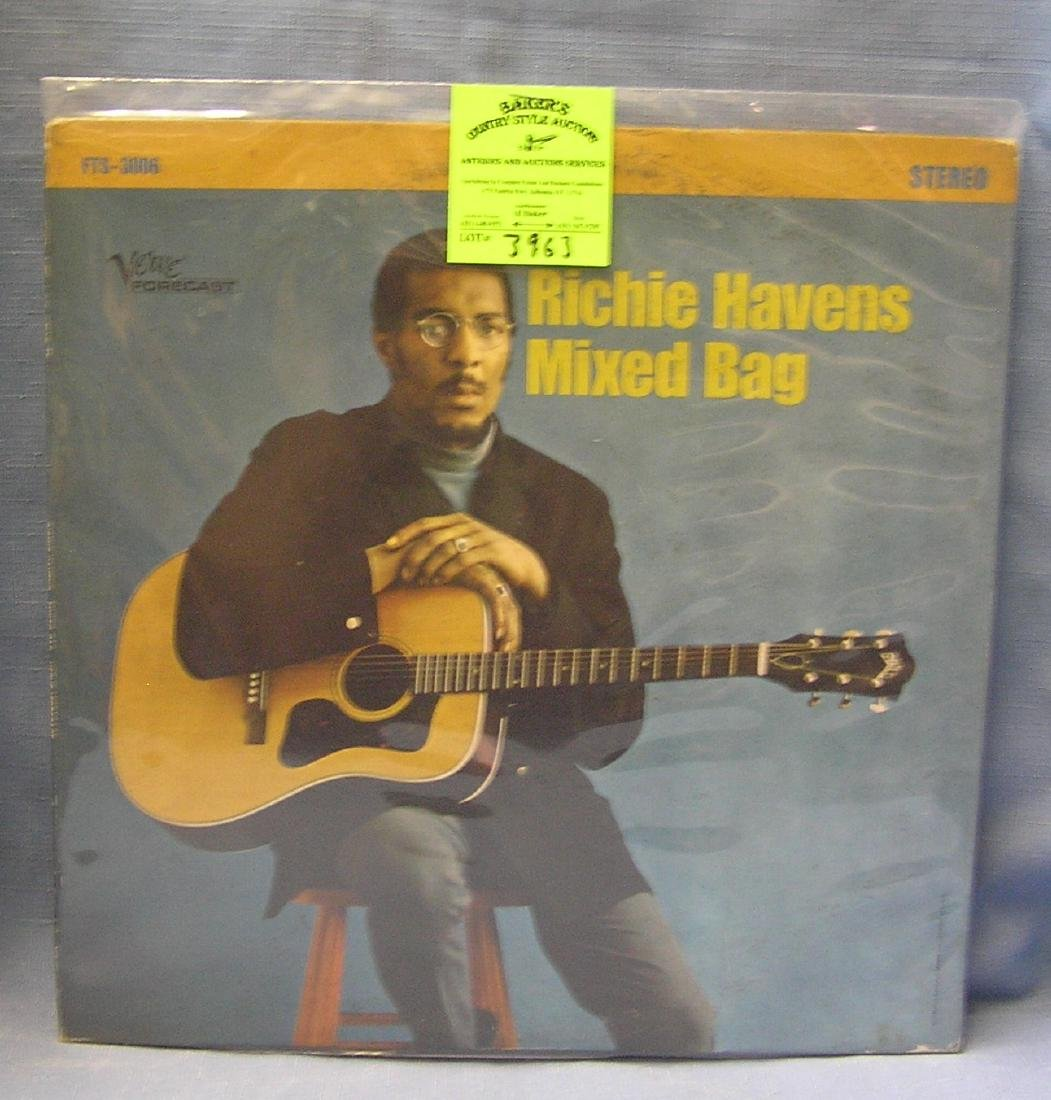 Vintage Richie Havens Mixed Bag record album