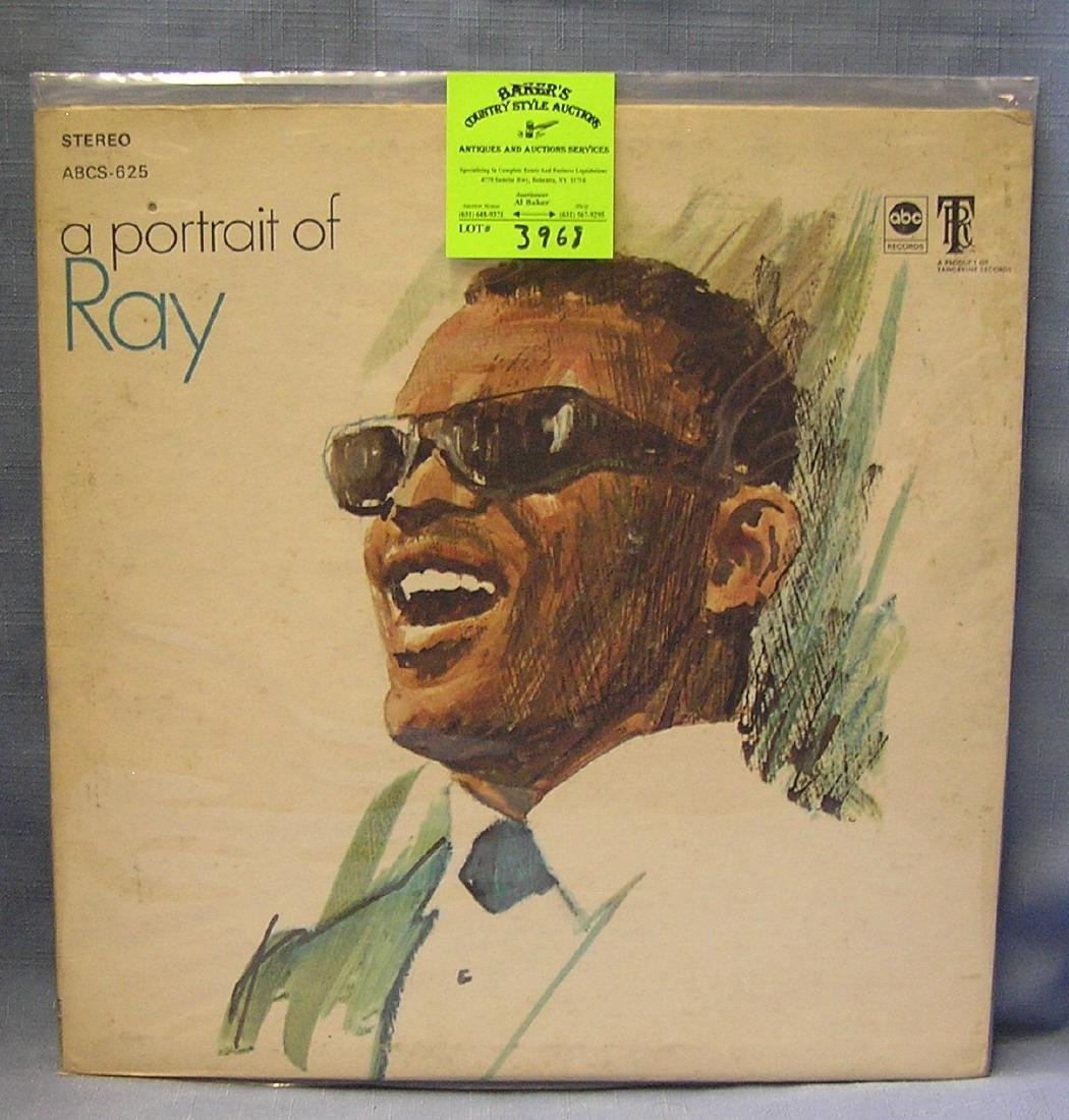 Vintage Ray Charles record album
