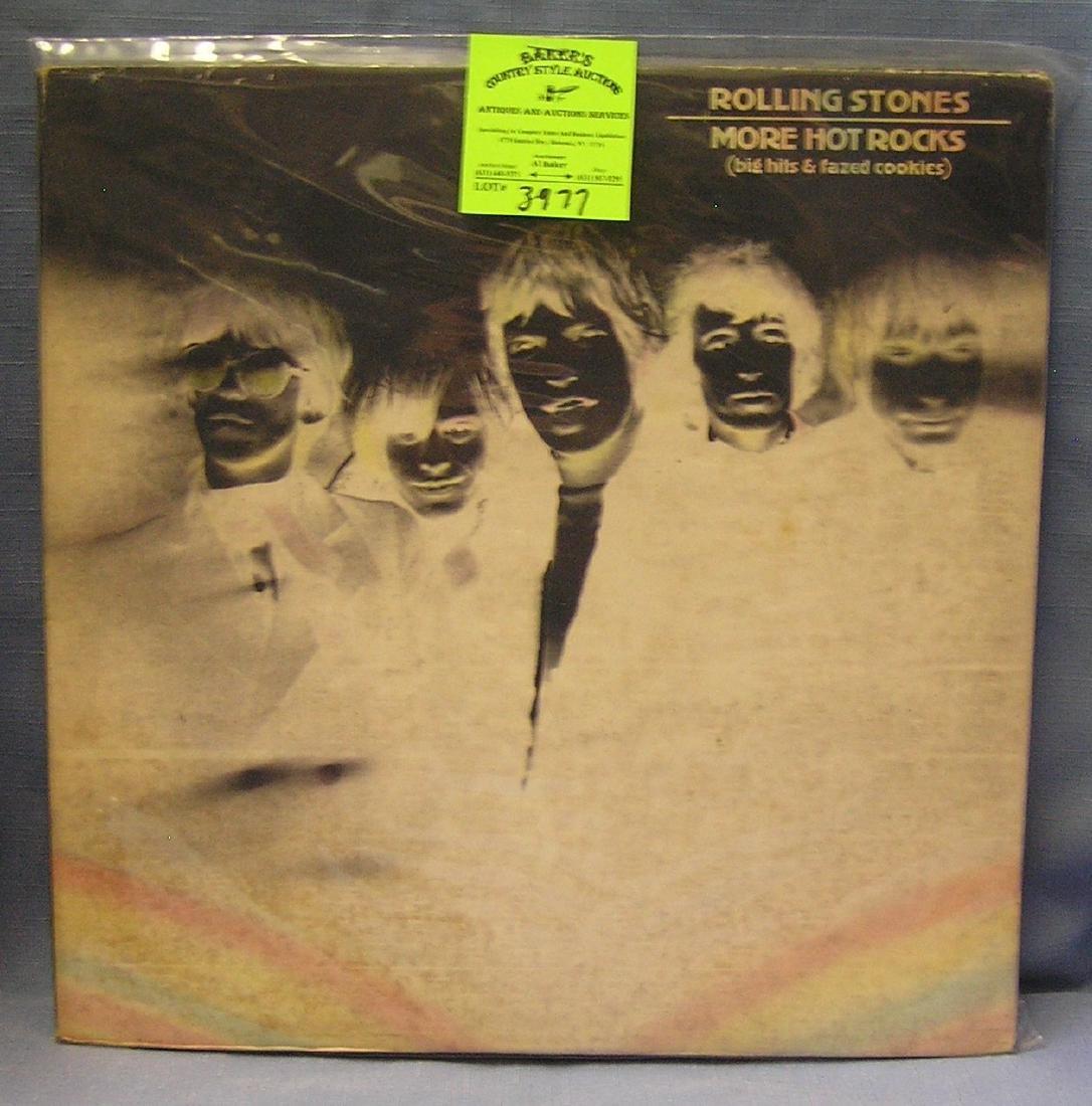 Vintage Rolling Stones More Hot Rocks record album