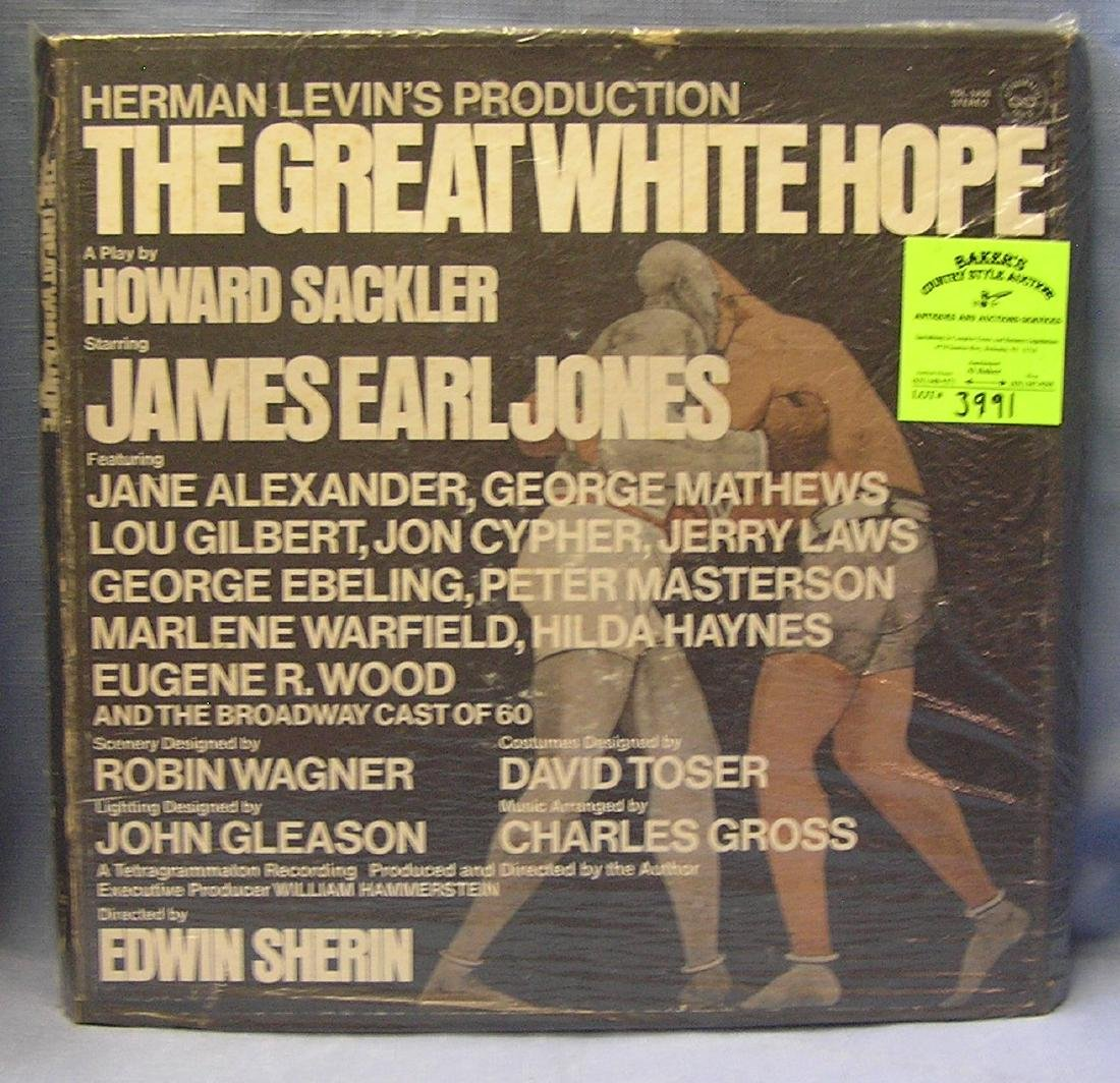 The Great White Hope vintage multi record album