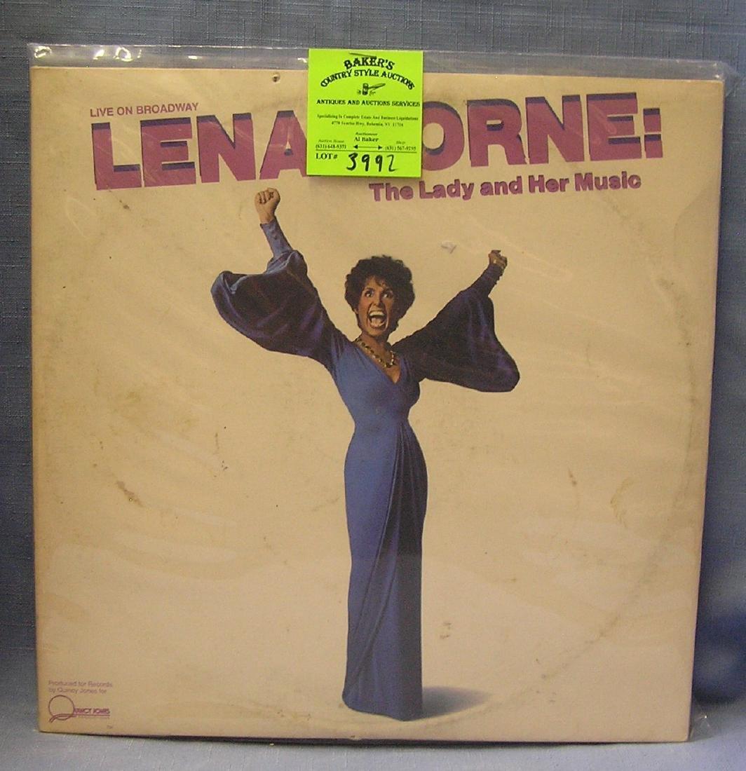 Vintage Lena Horne record album