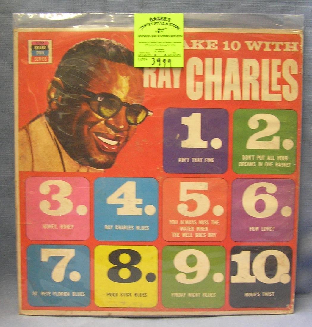Vintage Ray Charles record album