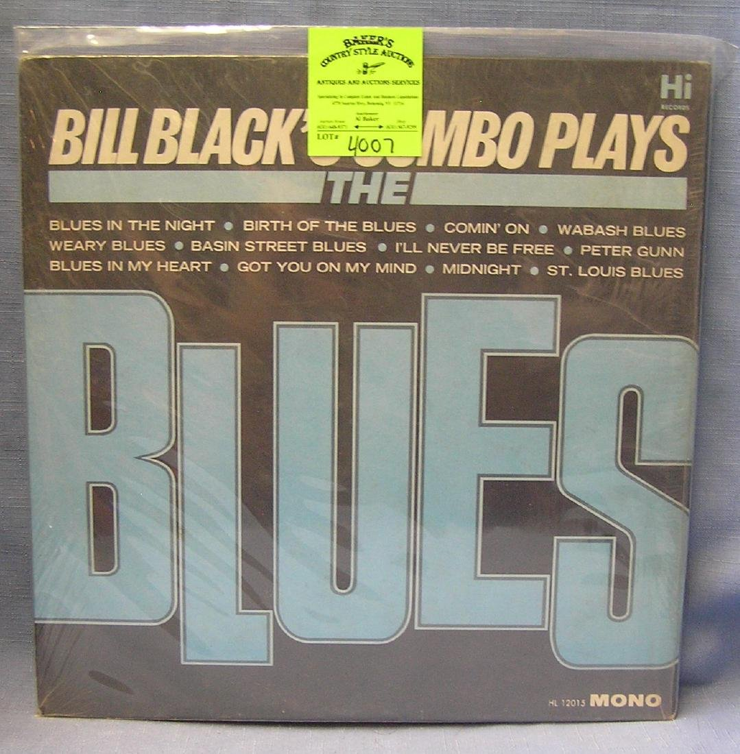 Bill Blacks Combo Plays The Blues record album