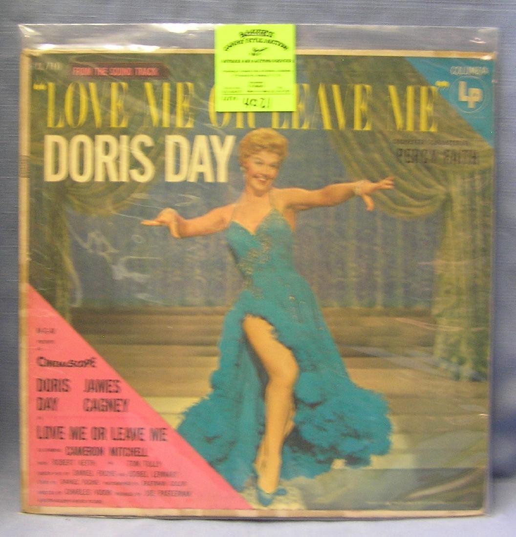 Vintage Doris Day record album