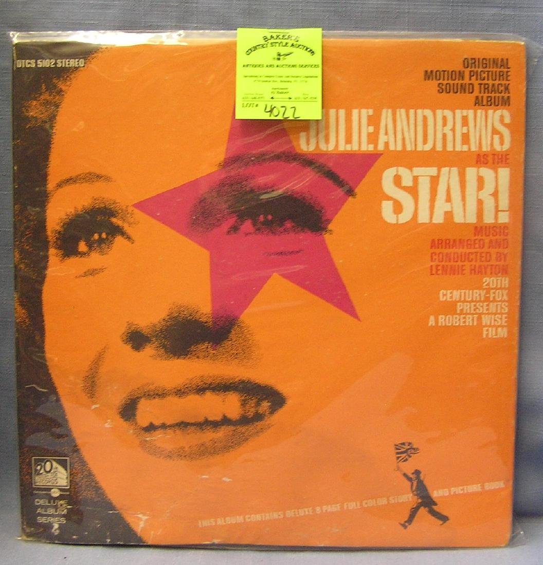 Vintage Julie Andrews record album