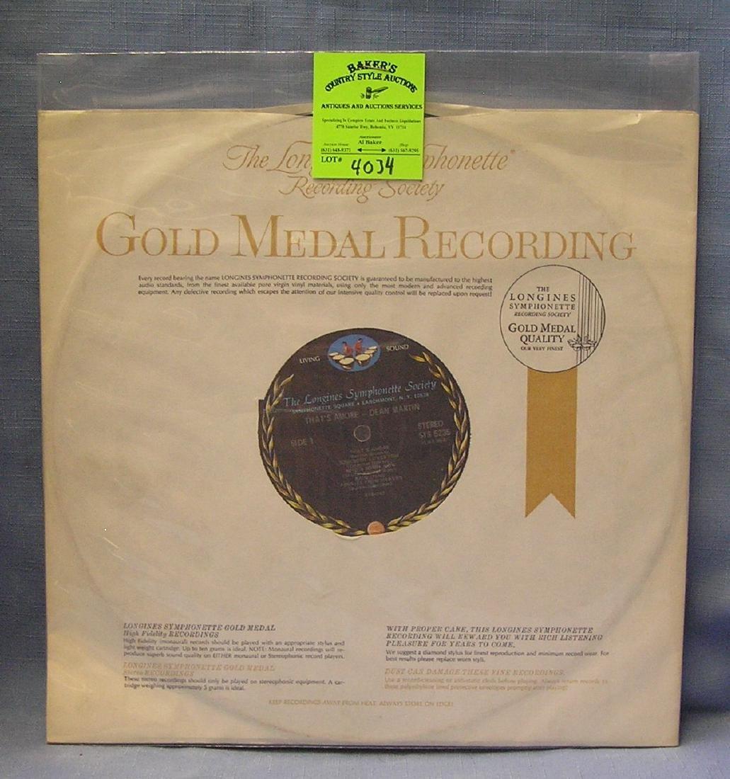 Vintage Dean Martin record album