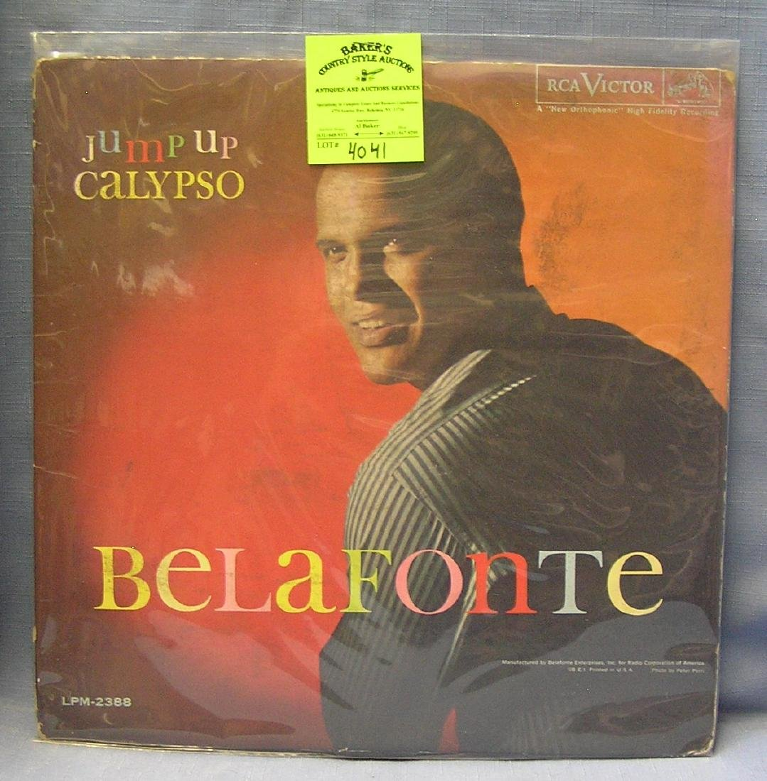 Vintage Harry Belafonte record album