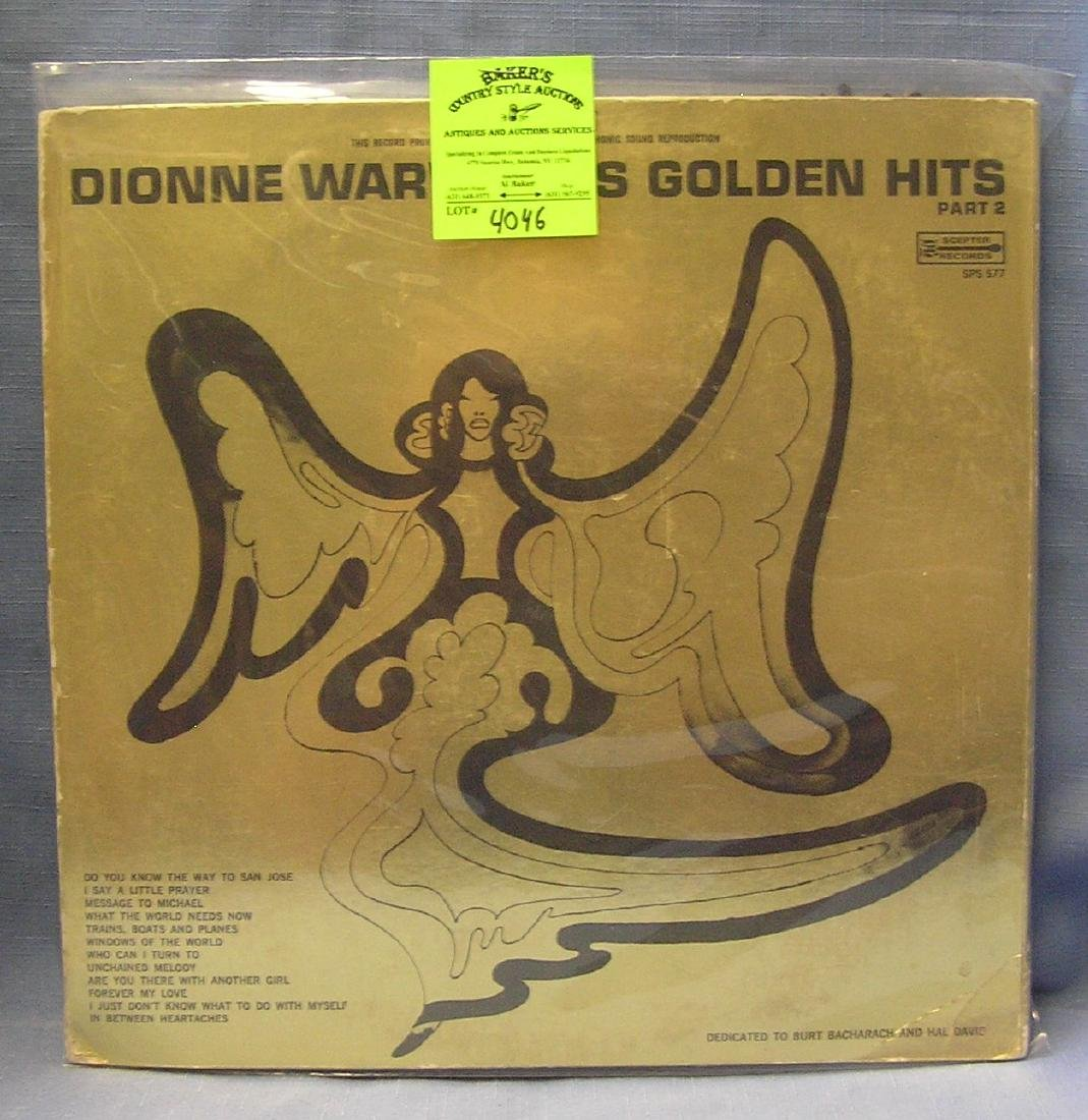 Vintage Dionne Warwick record album