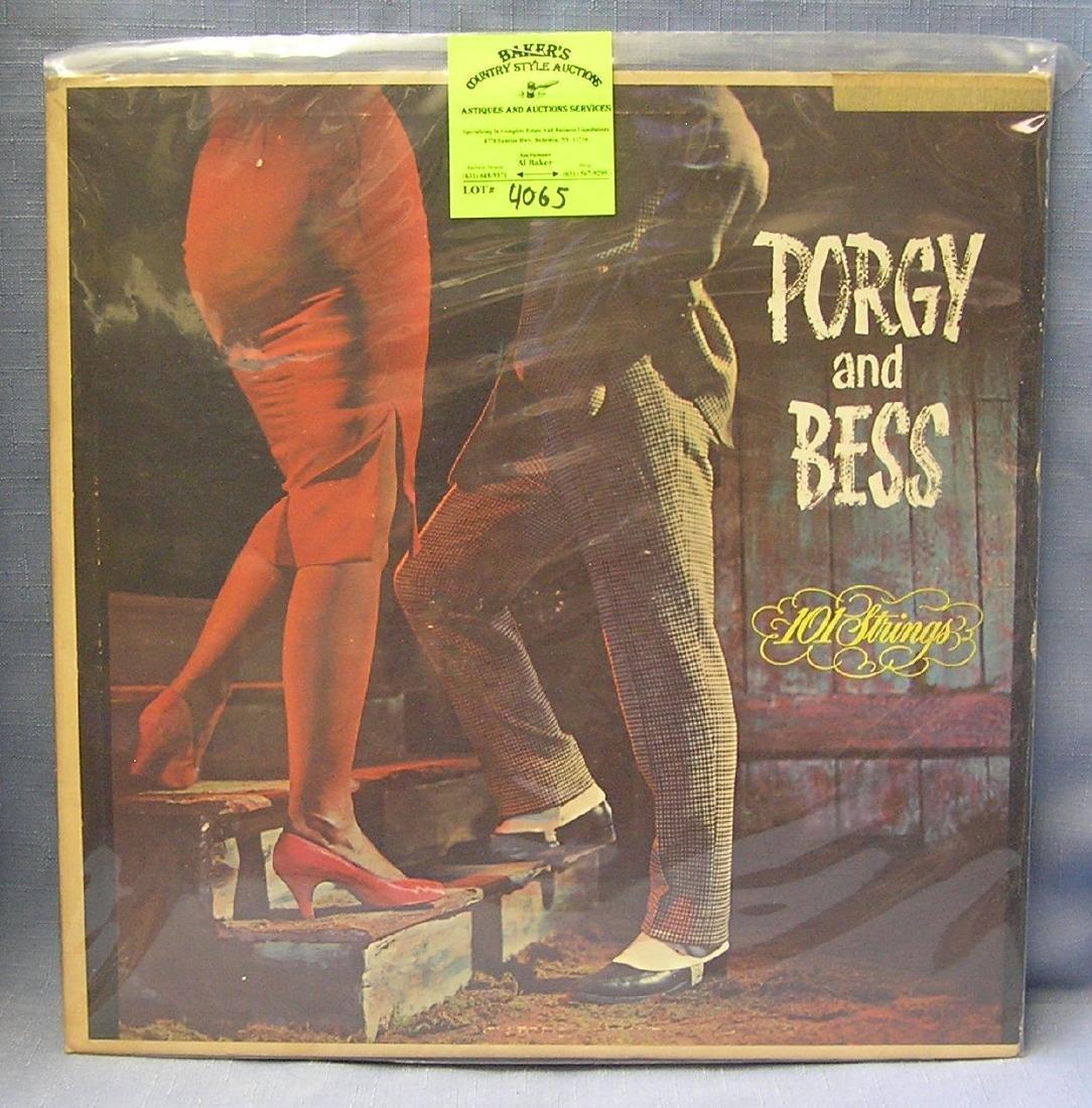 Vintage Porgy and Bess record album