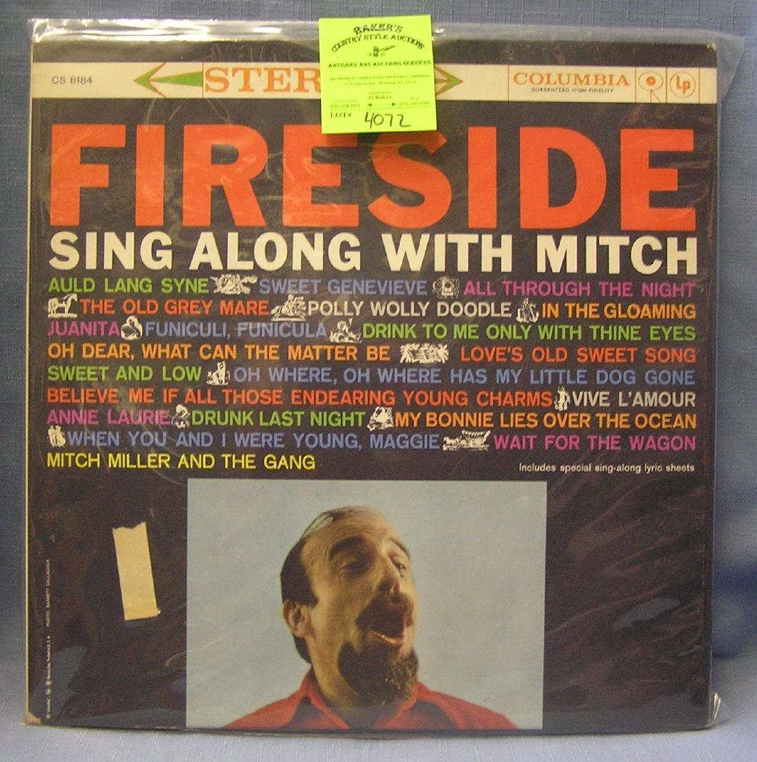 Vintage Mitch Miller record album