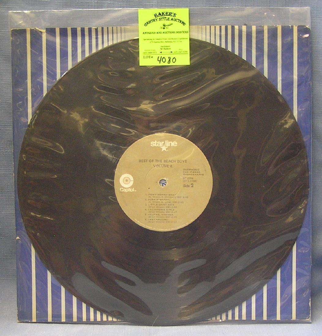 Vintage Beach Boys record album