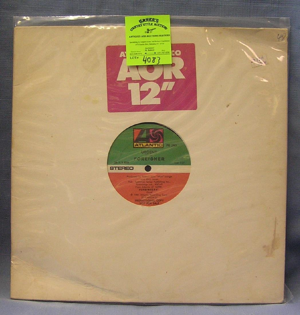 Vintage Foreigner record album
