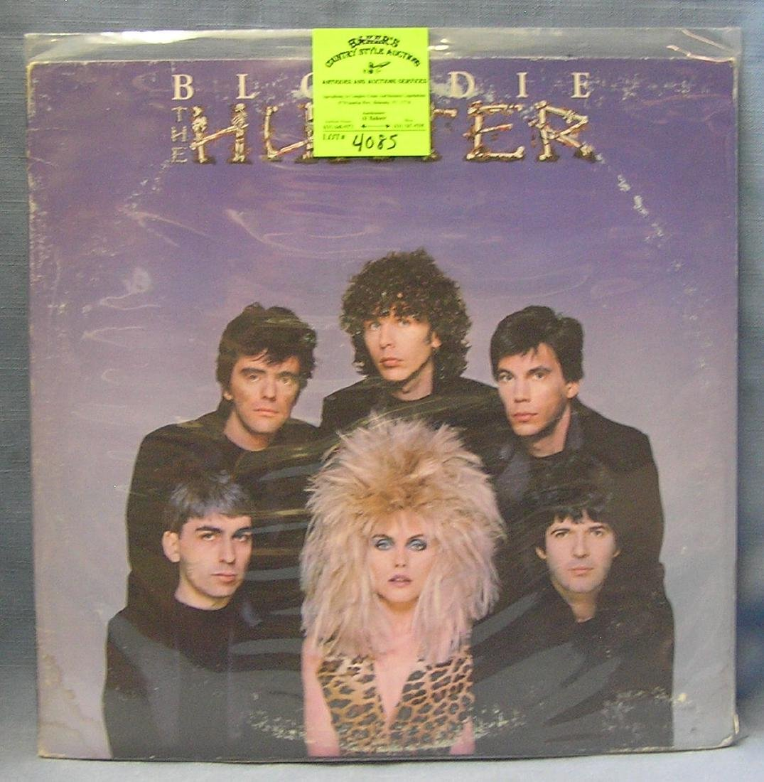 Vintage Blondie record album