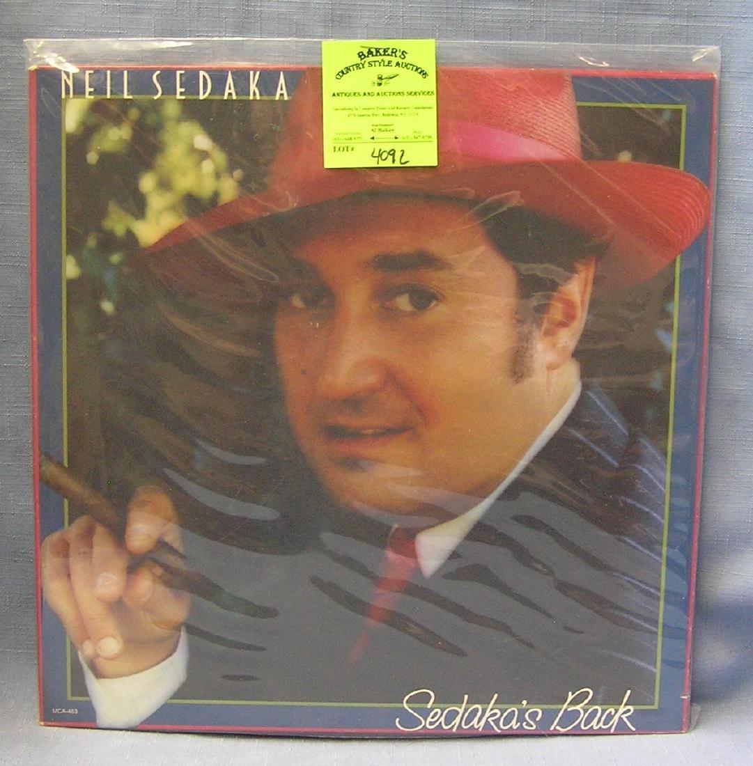 Vintage Neil Sedaka record album