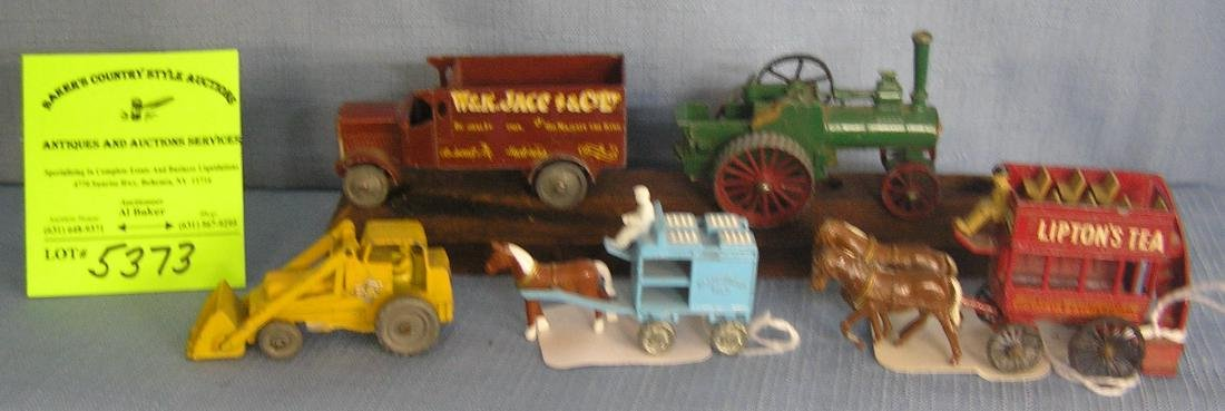 Collection of die cast vehicles including Matchbox