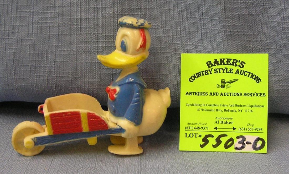 Donald Duck hard plastic ramp walker