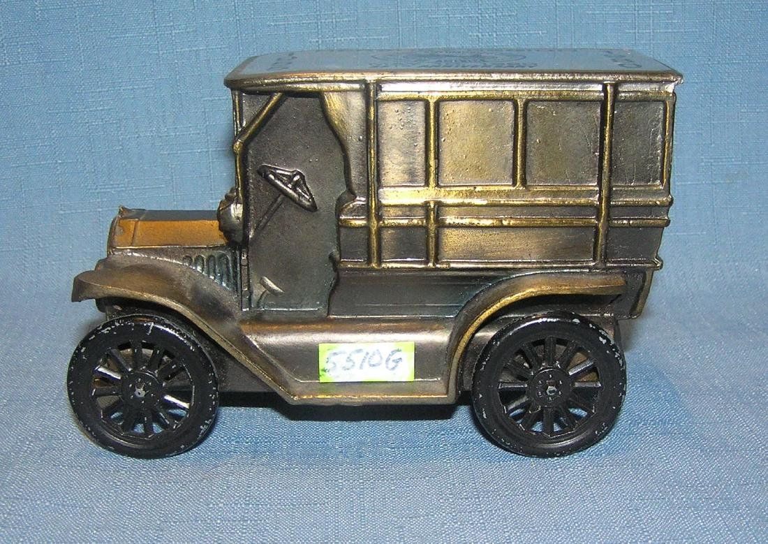 Antique Ford delivery truck bank