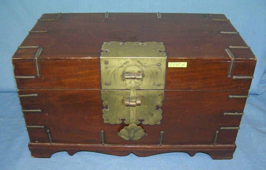 Asian Palace style valuables storage box