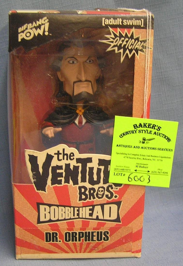 The Venture Brothers Dr. Orpheus bobble head figure