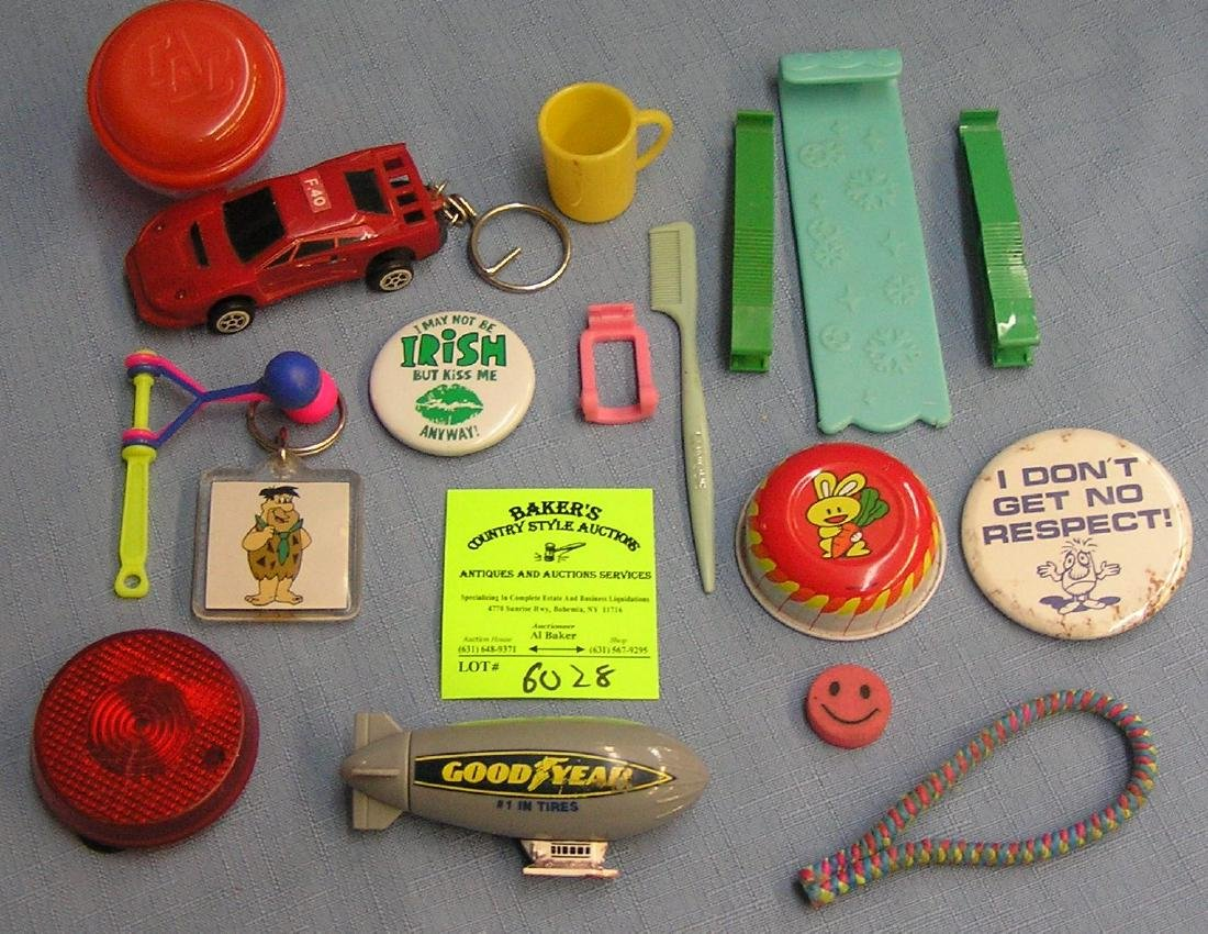 Group of vintage toys and collectibles