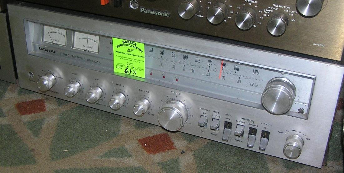 Vintage Lafayette stereo receiver
