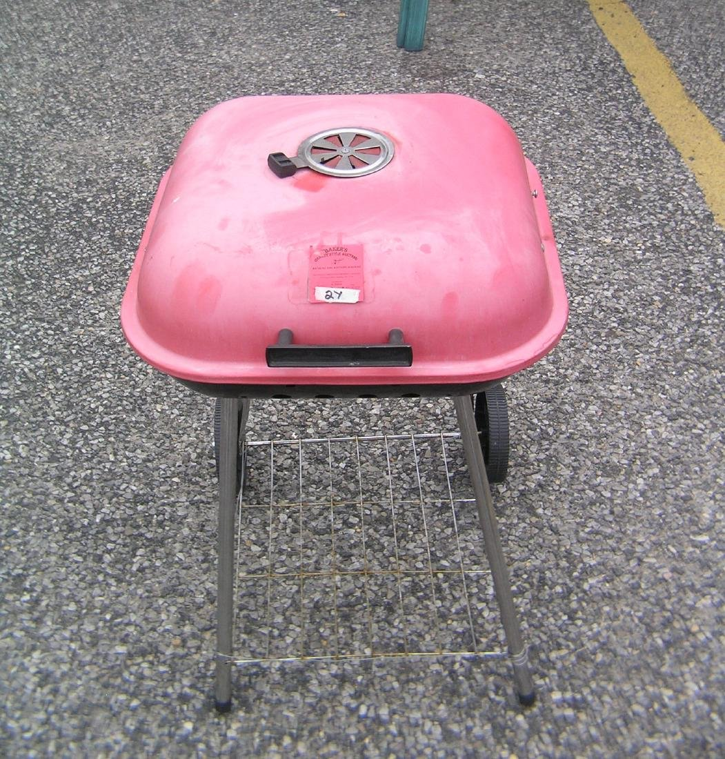Kettle barbeque