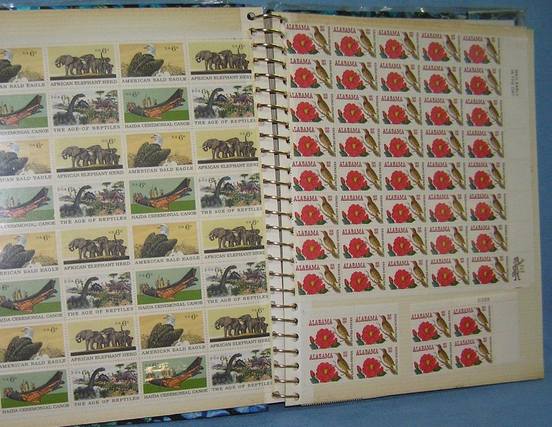 Stamp collector's album inc. vintage stamps and more - 2