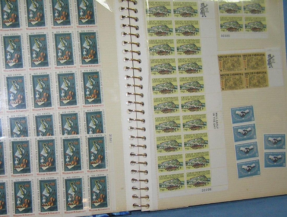 Stamp collector's album inc. vintage stamps and more - 3