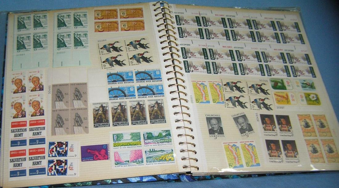 Stamp collector's album inc. vintage stamps and more - 5