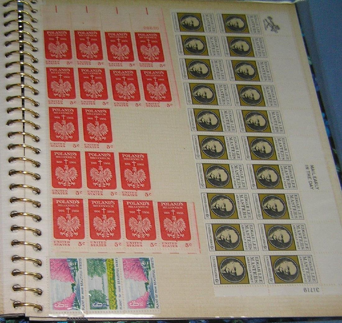 Stamp collector's album inc. vintage stamps and more - 9