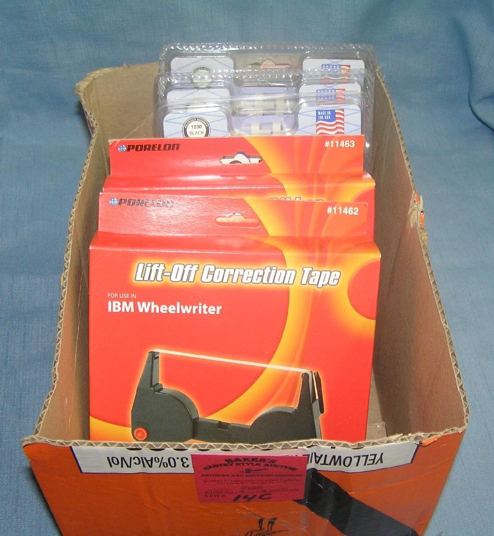 IBM and Brother correctible ribbon cartridges
