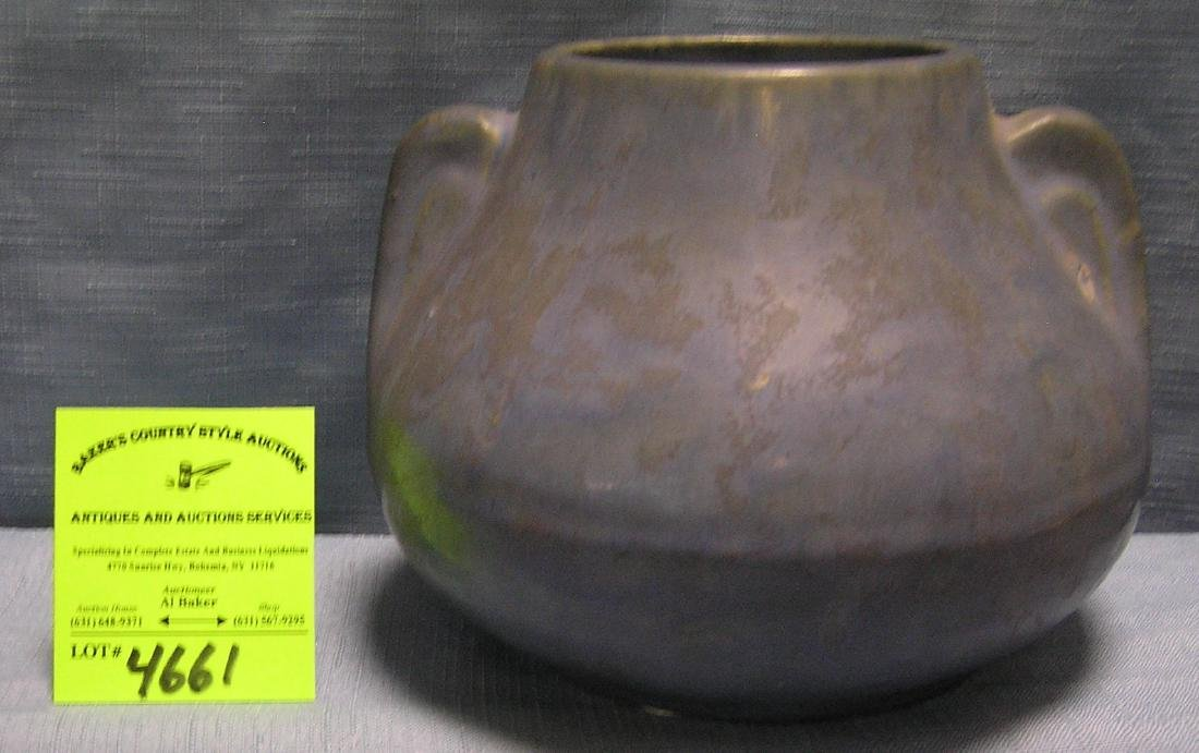 Early art pottery vase