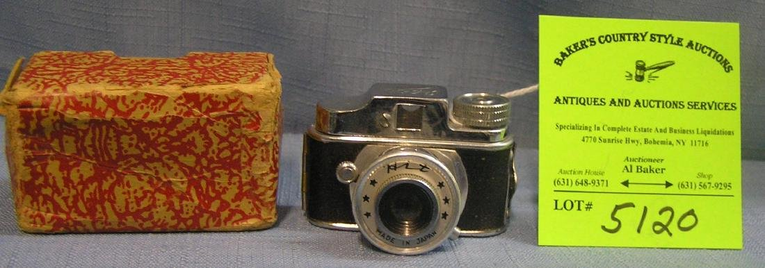 Early Hit sub miniature camera in original box