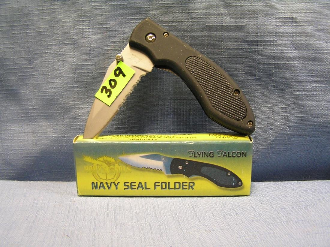 Navy Seal folding pocket knife