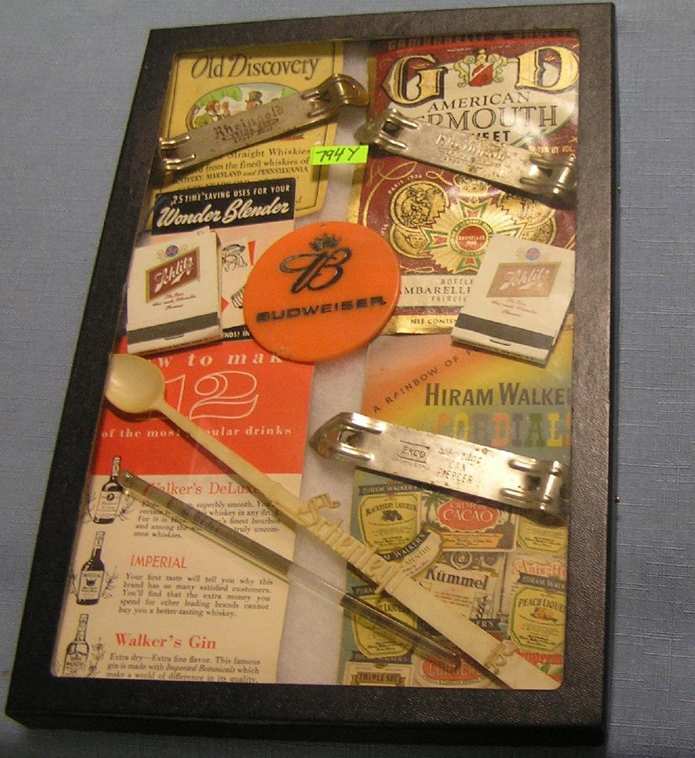 Brewery and alcohol collectibles