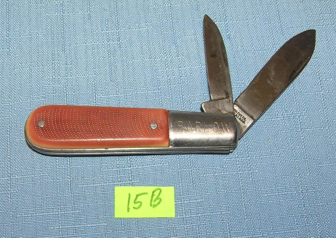 Vintage Barlow 2 bladed pocket knife