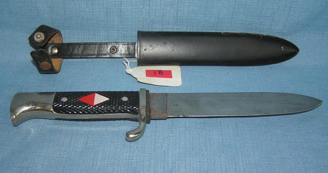 Post war German Hitler Youth style dagger