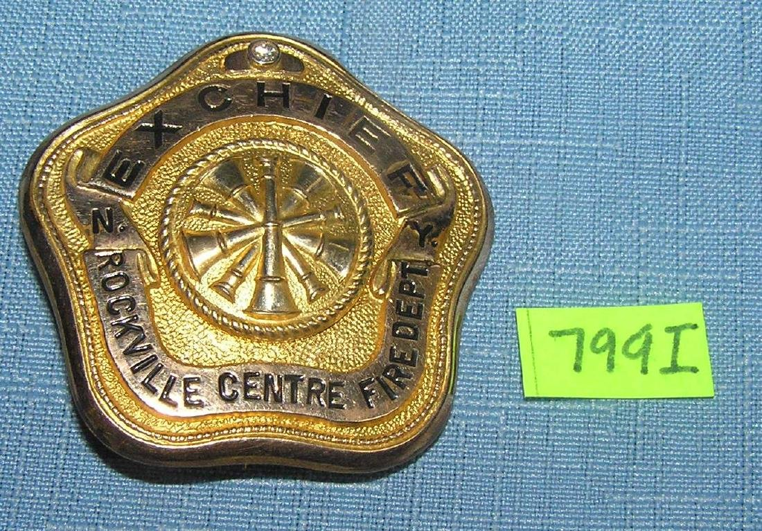 Early golf filled diamond encrusted ex-fire chief's