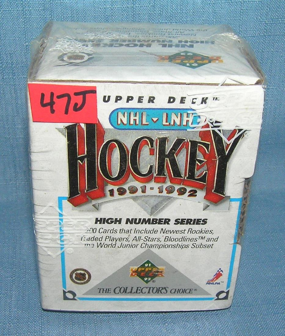 Upper Deck NHL hockey collector's choice factory sealed