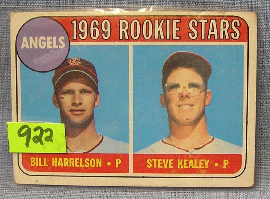 Vintage 1969 Angels rookie baseball card