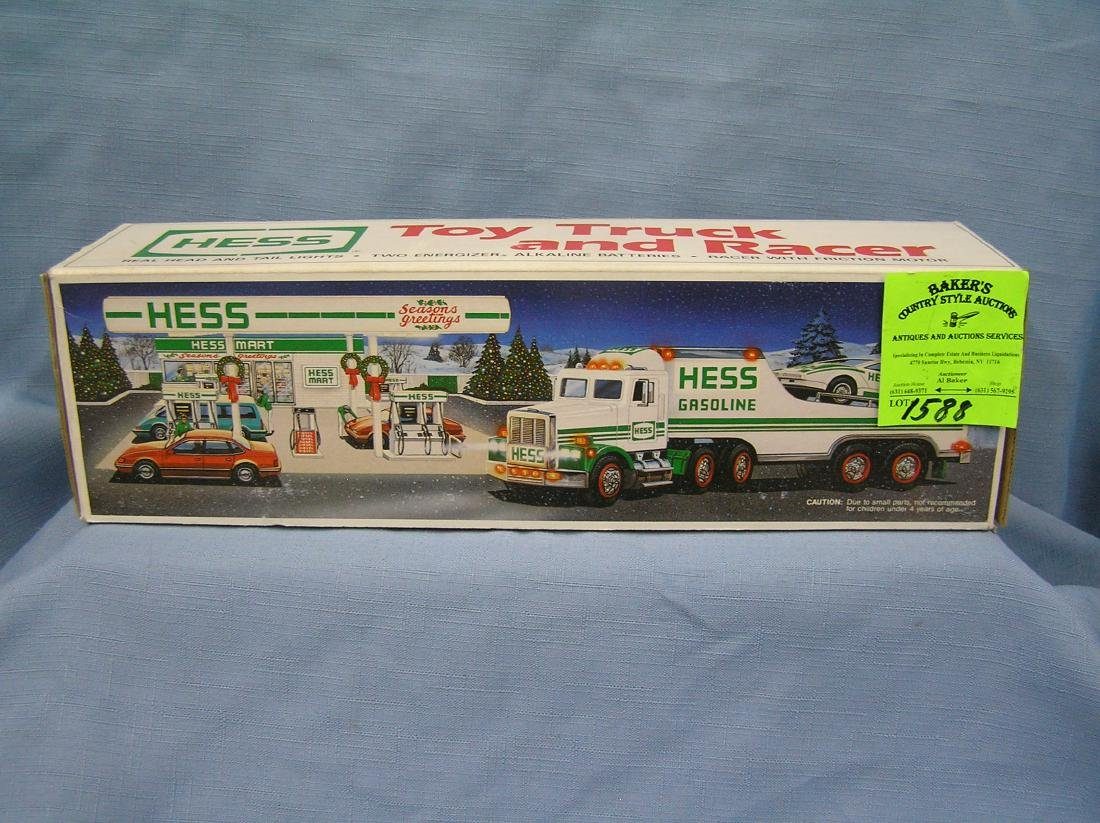 Vintage HESS toy truck