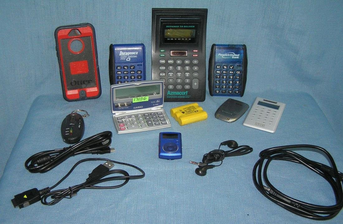 Group of electronic devices and accessories - 2