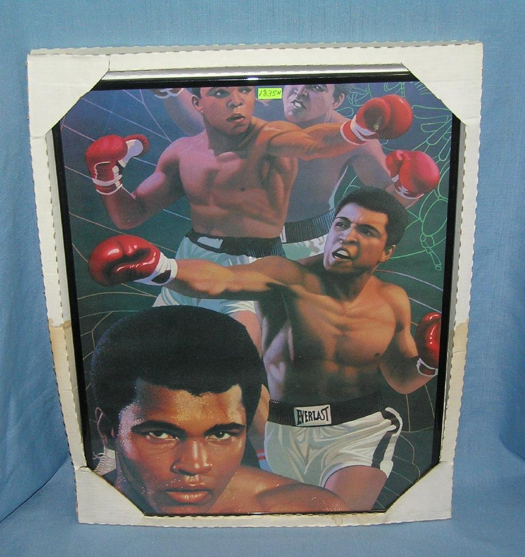 Muhammad Ali limited edition boxing photo