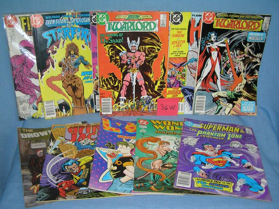 Group of vintage DC and other comic books