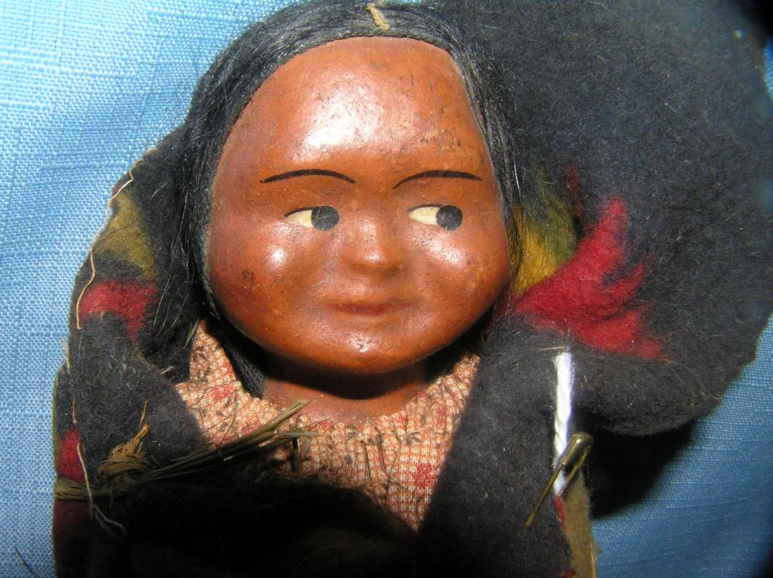 Native American Indian Skookum baby doll - 2