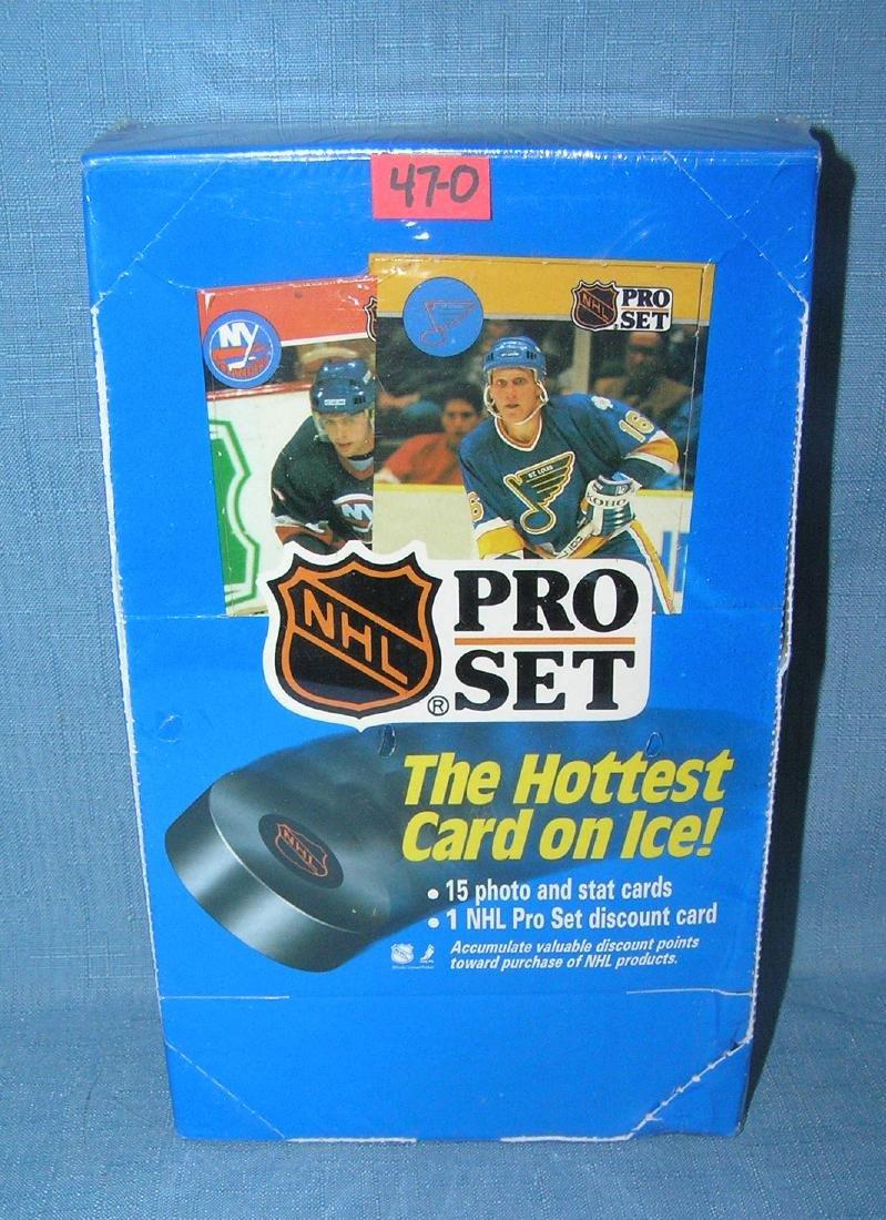 NHL hockey pro set the hottest cards on ice
